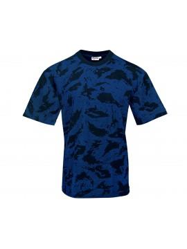 Κοντομάνικο Μπλουζάκι Μπλε Παραλλαγής Νύκτας Βαλτικής